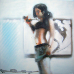 girl (req1) Tags: girl women figure req femalefigure spraypaintoncanvas molotowpremium