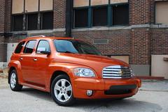HHR (E. Brow) Tags: orange chevrolet mi wagon michigan retro chevy sunburst frankenmuth hhr