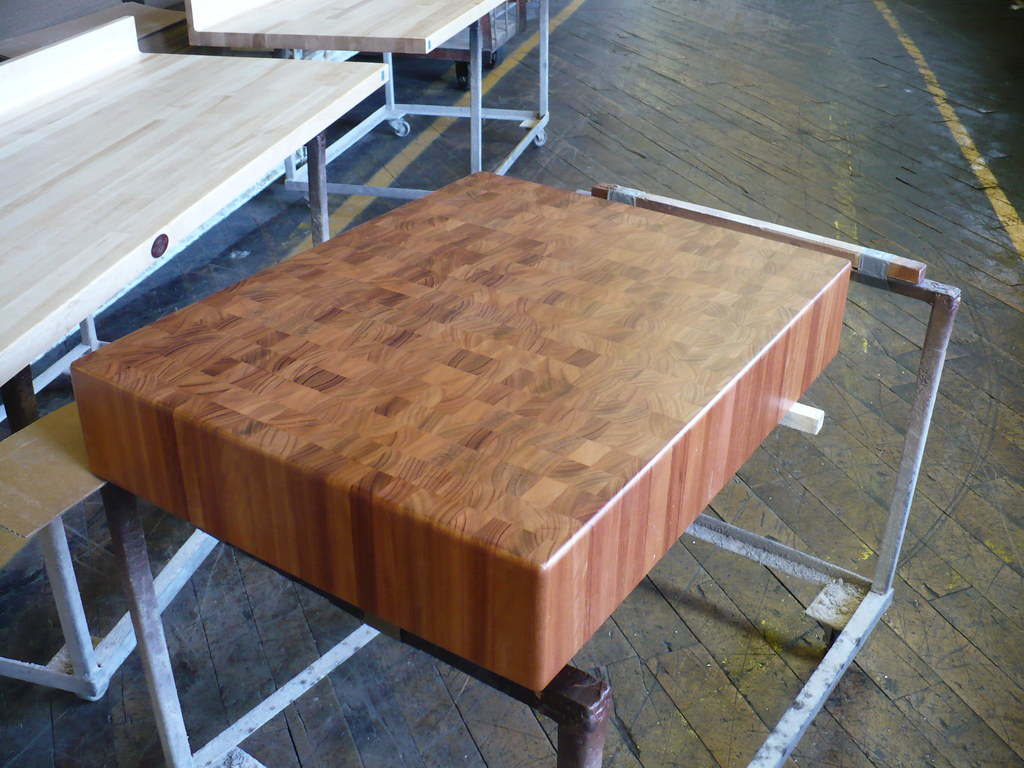 Lyptus end grain butcher block
