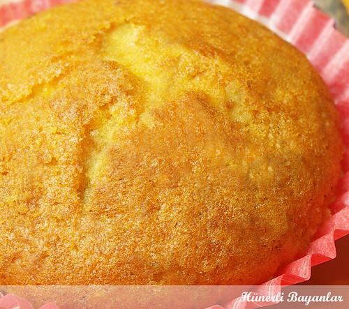 Portakallı Krem Şantili Kek