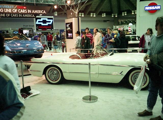 chevy corvette carshow 1953 c1 baltimoremd baltimoreconventioncenter motortrendinternationalautoshow