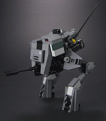 E-1 UNITY Combat Droid (mondayn00dle) Tags: dawn highway lego military hour forge zero 44 mecha mech foitsop