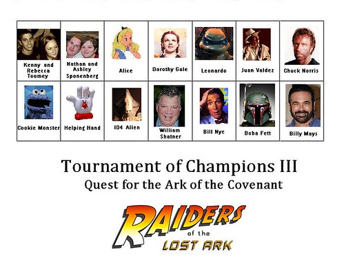 Tournament of Champions III: Quest for the Ark of the Covenant
