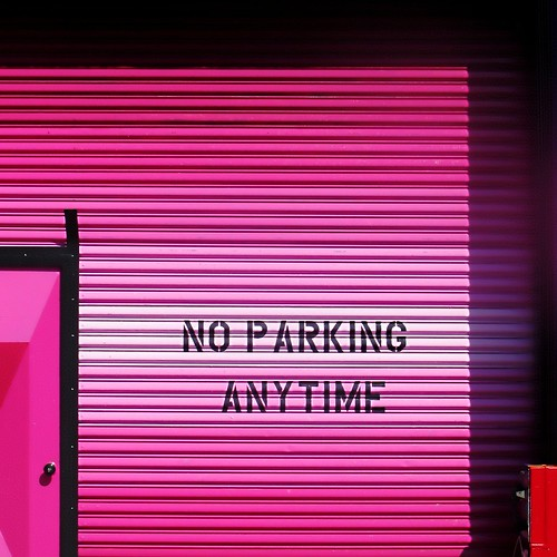 think pink (but no parking while doing so)