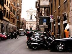 Porsche Carrera S Cabriolet (Jurriaan Vogel) Tags: street black rome roma cab s porsche finepix brakes fujifilm cabrio carrera cabriolet s5700