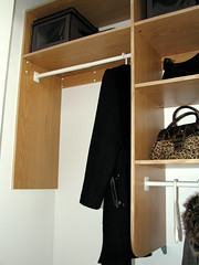 Entrance closet (left) (mczelda) Tags: closet entrance clothes organize