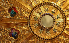 Détail d'un ostensoir / Detail Of A Monstrance