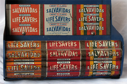 Life Savers Close up