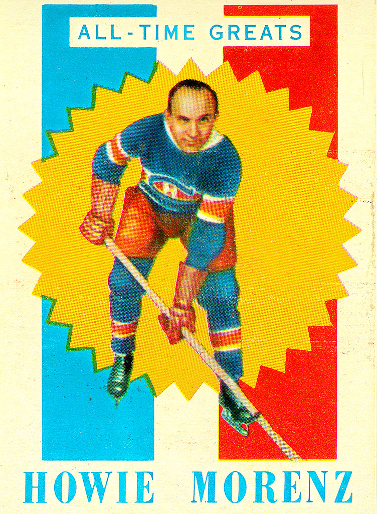 TOPPS NHL Playing Cards 1960-61 — All-Time Greats  4