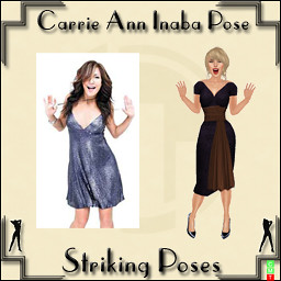 Carrie Ann Inaba Pose