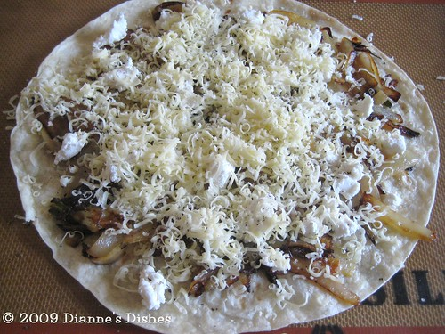 Cheesy Caramelized Onion Quesadillas: Cheese
