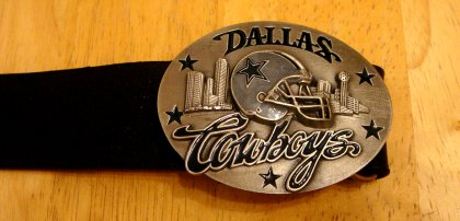 Wechselgürtelschnalle Dallas Cowboys