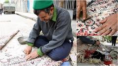 عكس روز: رفوگر (Reza-ir) Tags: people carpet iran social mashhad darn khorasan ايران مردم مشهد فرش خراسانرضوي اجتماعي عكستركيبي رفو