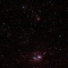 Final: Lagoon & Trifid nebulas (fyngyrz) Tags: lagoon astro nebula stacking stacked fyngyrz Astrometrydotnet:status=solved astro:pixelScale=498 astro:name=thestar7sgr astro:name=hourglassnebula astro:name=lagoonnebula astro:name=thestar9sgr astro:name=ngc6526 astro:name=ngc6523 astro:name=m8 astro:name=ngc6530 astro:name=m20 astro:name=trifidnebula astro:name=ngc6514 Astrometrydotnet:version=11264 astro:RA=27091925526 astro:Dec=235140863709 astro:orientation=16612 astro:fieldsize=244x244degrees astro:name=m21 astro:name=ic4685 Astrometrydotnet:id=alpha20090432125816 astro:name=thestar4sgr astro:name=ngc6531 astro:name=ngc6546