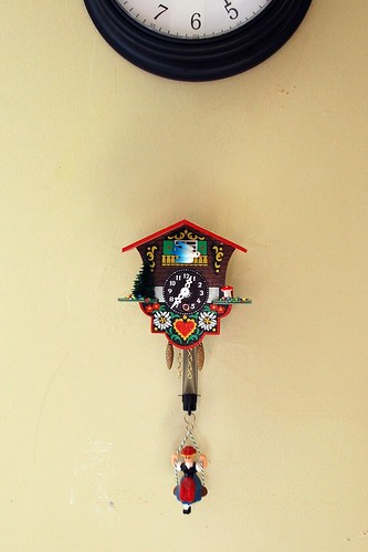 thrifted clock