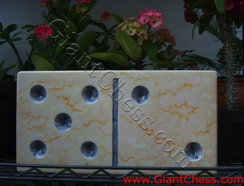 Wooden Marble Giant Domino