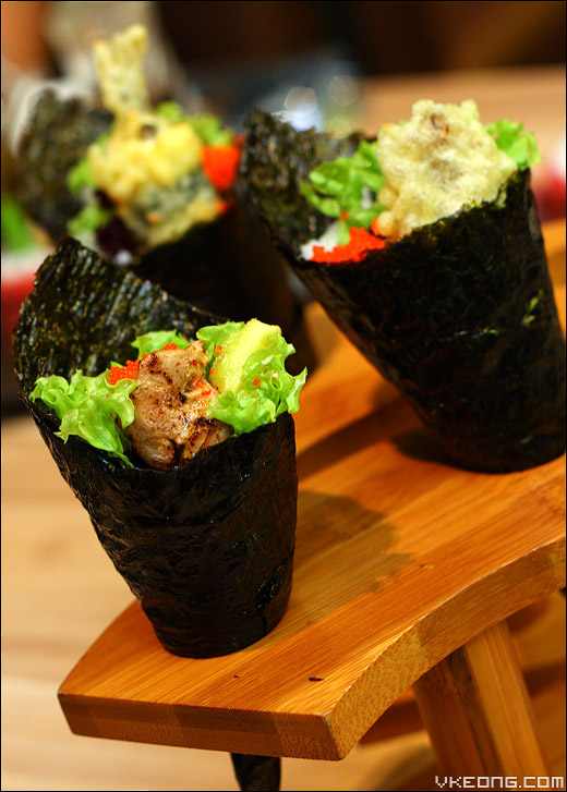 tempura-temaki
