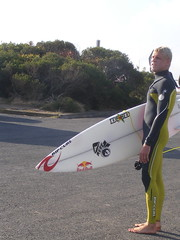 Mick Fanning (Travel Tam) Tags: beach water waves surfer surfboard bellsbeach autralia wct mickfanning 2007worldchampion ripcurlpro2009