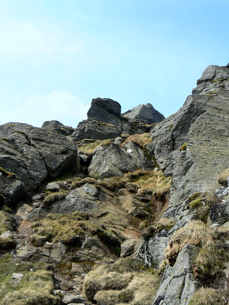 Scrambling on Ben Vane