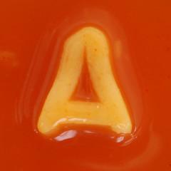 spaghetti letter A (Leo Reynolds) Tags: canon eos iso100 letter 60mm f80 spaghetti heinz aa aaa oneletter letterset alphabetti 0sec 40d hpexif grouponeletter xsquarex spaghettiletter xratio11x xleol30x