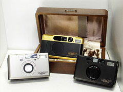 Contax T2 & Contax T3 (Lordcolus) Tags: camera contax t3 contaxt3 t2 gaget