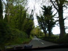 Driving home from Devil's Glen