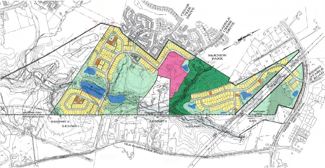 Proposed Site Plan, Fairland Park Community