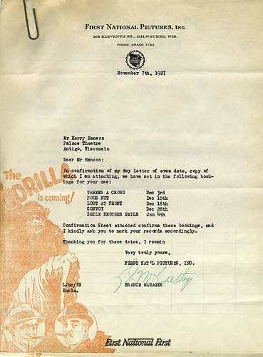 First National Stationary - THE GORILLA graphics