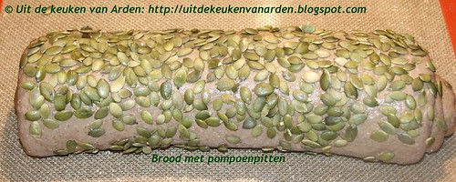 Brood met pompoenpitten