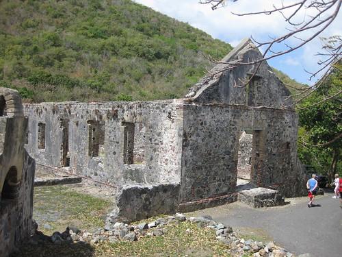 Annaberg Sugar Mill Plantation Ruins
