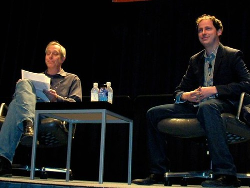 SXSWi 2009: Nate Silver Interviewed by Stephen Baker by LauraMoncur from Flickr
