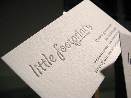 Little Footprint Photography Cards