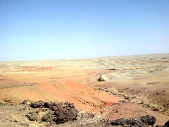 Landscape next to Khamariin Hiid Monastery, near Sainshand