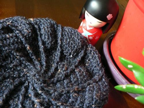 Crochet Swirl Cap