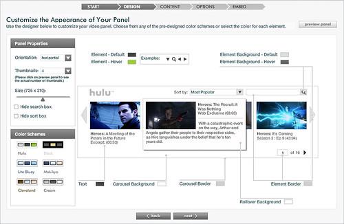 Video Panel Designer