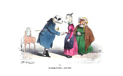 007-Les métamorphoses du jour (1869)-J.J Grandville