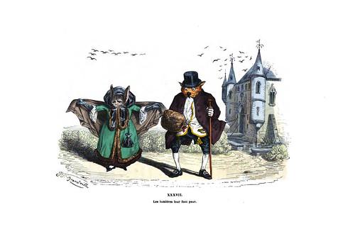 010-Les métamorphoses du jour (1869)-J.J Grandville