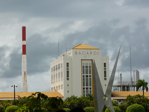 The Bacardi factory