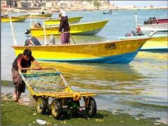 2 (sahar habibi) Tags: boy sea boat iranian qeshm