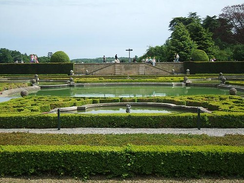 Water gardens at Blenheim
