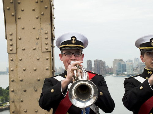 The Band plays fanfare 1