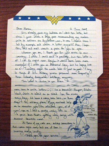 Letter to a marine