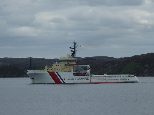 Anglian Sovereign leaving Stornoway on 4 June 2009
