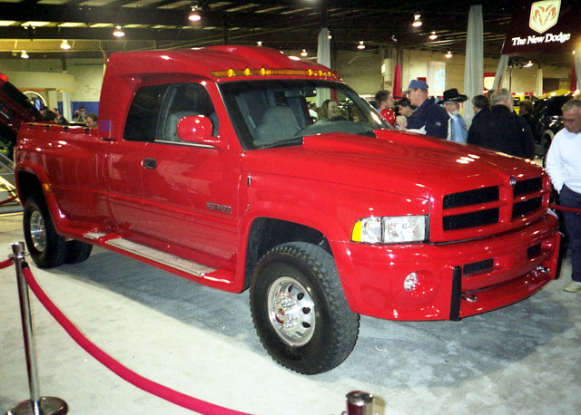 1998 Dodge Big Red Truck Concept by splattergraphics