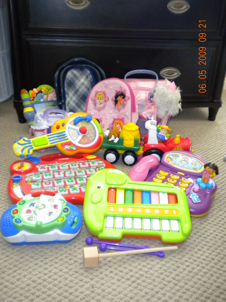 Electronic learning toys etc
