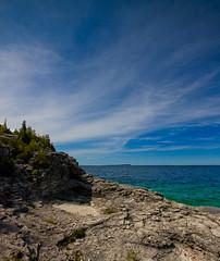 Georgian Bay, Bruce Peninsula National Park (John Hanam) Tags: park blue lake ontario canada landscape bay landscapes head cove indian bruce nation waters georgian peninsula 1020 huron xsi burmuda johnhanam pbhanam