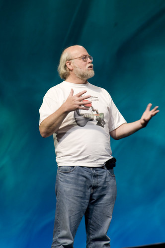"James Gosling, General Session ""Java: Change (Y)Our World"" on June 2, JavaOne 2009 San Francisco"