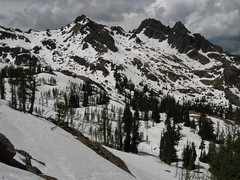 Headlight Basin from Ingalls Pass