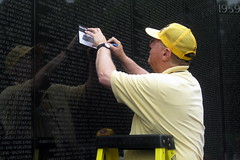Washington DC: Vietnam Veterans Memorial Wall - Pencil rubbing (wallyg) Tags: wall washingtondc dc districtofcolumbia memorial nps name landmark vietnam nationalmall dcist vietnammemorial names nationalparkservice warmemorial vietnamveteransmemorial rubbing inscription memorialpark mayalin constitutiongardens vietnamwarmemorial vietnamwar vietnammemorialwall vietnamveteransmemorialwall nationalmemorial nationalregisterofhistoricplaces nrhp usnationalparkservice nationalmallandmemorialpark aia150 usnationalregisterofhistoricplaces nmem rubbingnames panel04w mayayinglin pencilrubbing nationalmallmemorialparks usnationalmemorials