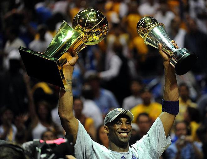 Kobe Bryant, campeón de la NBA y MPV de las finales